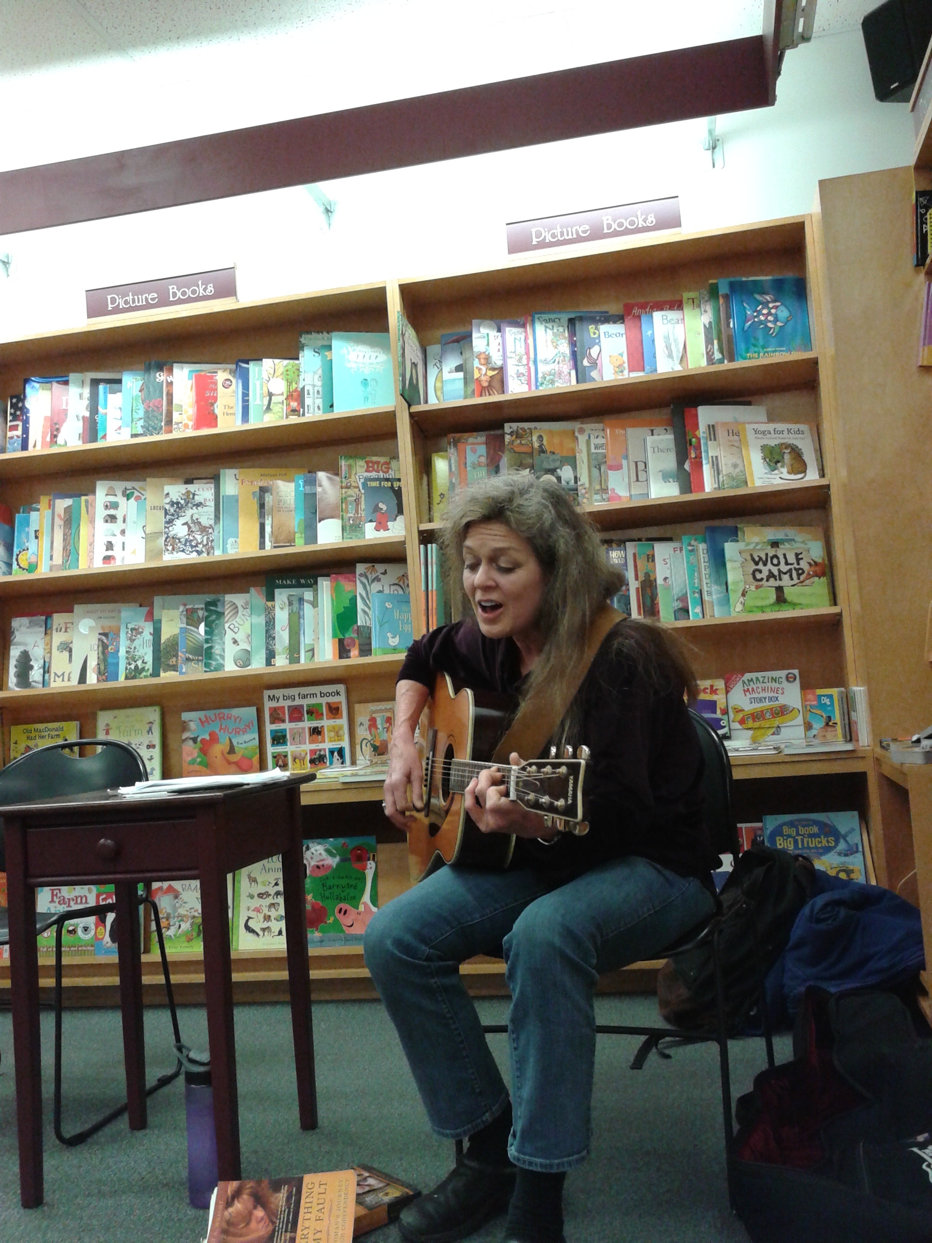 Bennington Bookshop Gig